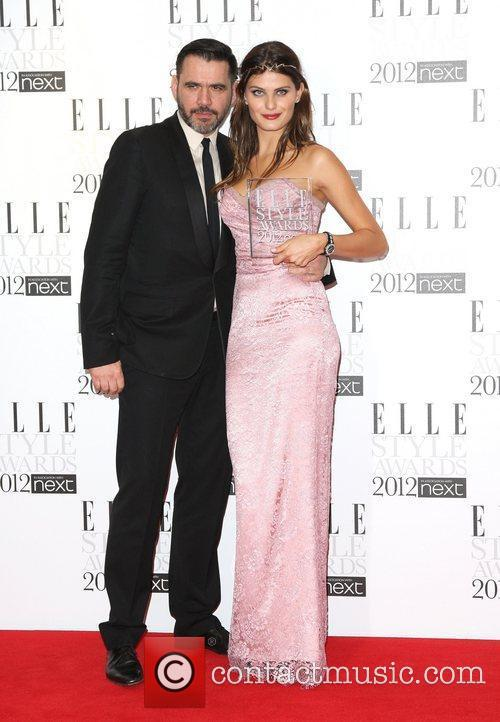 Roland Mouret and Isabeli Fontana The Elle Style...