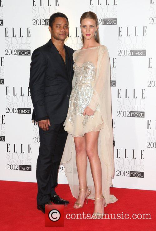 Rosie Huntington-whiteley and Cuba Gooding Junior 4