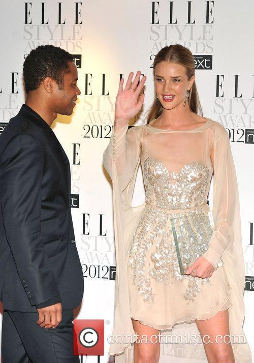 Rosie Huntington-whiteley and Cuba Gooding Junior 2