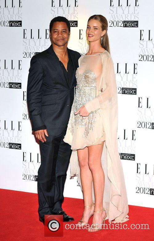 Rosie Huntington-whiteley and Cuba Gooding Junior 3