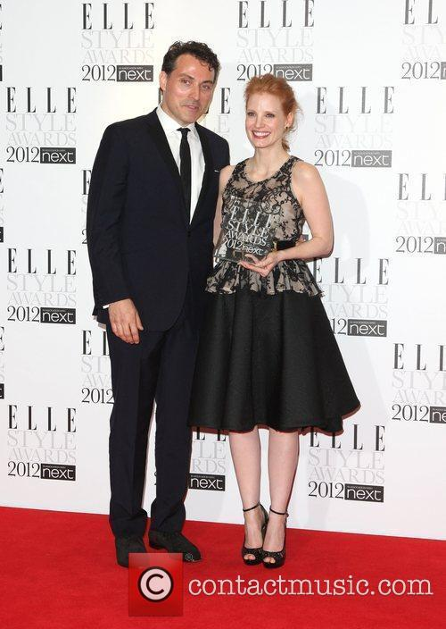 Jessica Chastain and Rufus Sewell 6