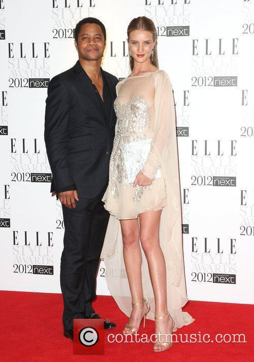Rosie Huntington-whiteley and Cuba Gooding Junior 10