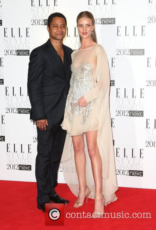 Rosie Huntington-whiteley and Cuba Gooding Junior 11