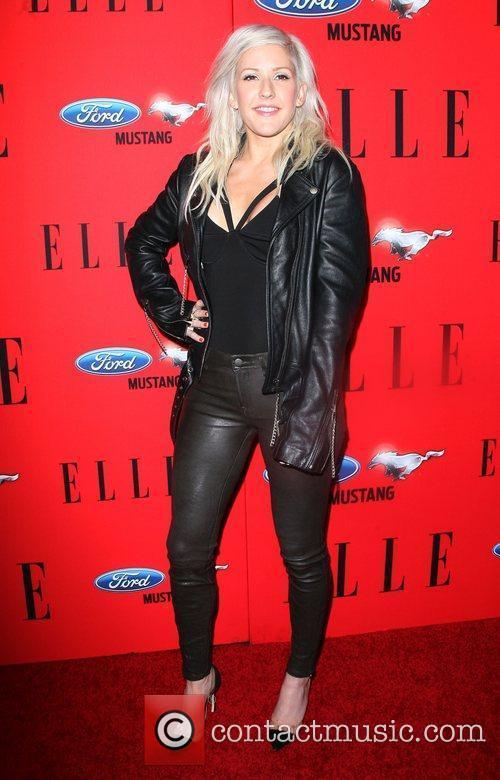 Ellie goulding at annual elle women in music hot girls for Elle pronunciation