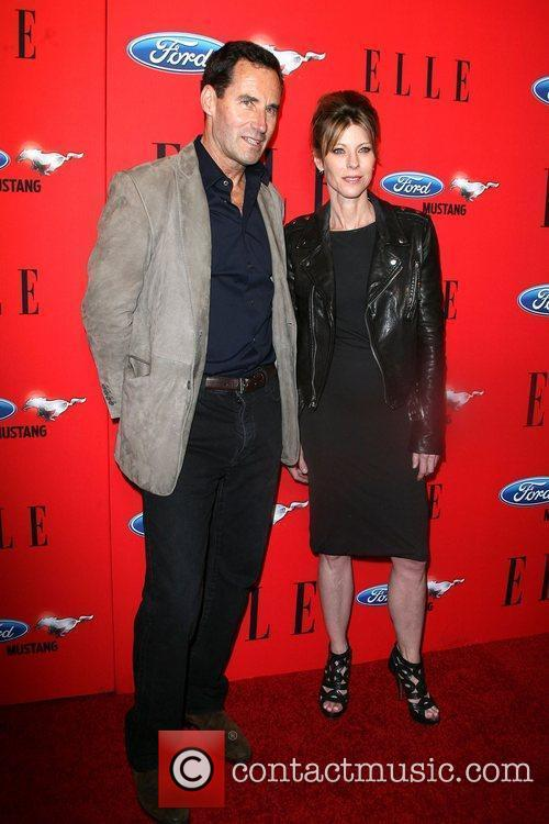 ELLE Senior VP Kevin O'Malley and ELLE Editor-In-Chief...