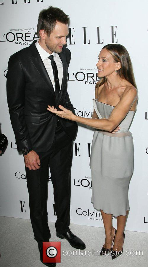 Joel McHale and Sarah Jessica Parker ELLE's 19th...