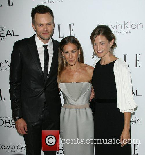 Joel McHale, Sarah Jessica Parker and Sarah Williams...