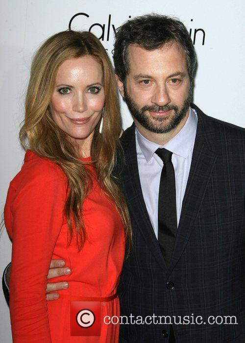 Leslie Mann and husband Judd Apatow ELLE's 19th...