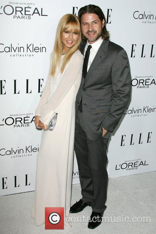 Rachel Zoe and husband Rodger Berman ELLE's 19th...