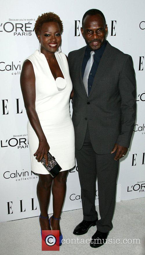 Viola Davis and Julius Tennon ELLE's 19th Annual...
