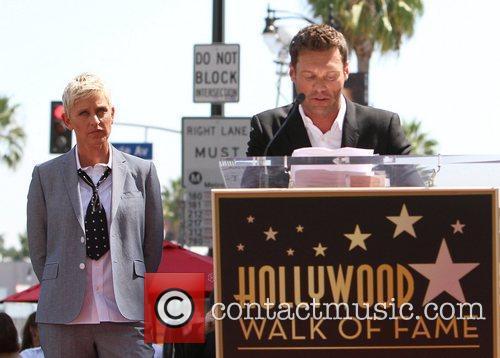 Ryan Seacrest and Ellen Degeneres 9