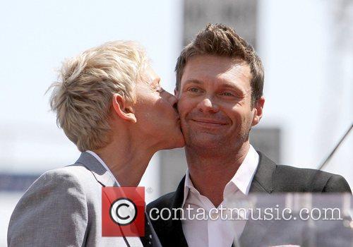 Ryan Seacrest and Ellen Degeneres 10