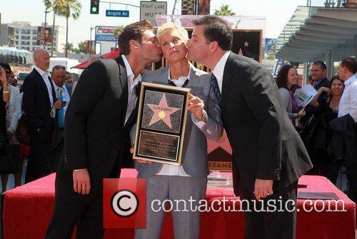 Ryan Seacrest, Ellen Degeneres and Jimmy Kimmel 5