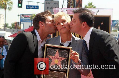 Ryan Seacrest, Ellen Degeneres and Jimmy Kimmel 6