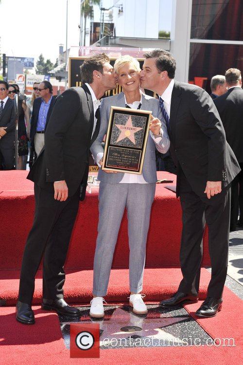Ryan Seacrest, Ellen Degeneres and Jimmy Kimmel 7