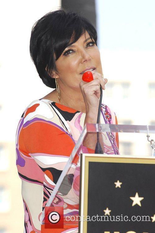 Kris Jenner and Star On The Hollywood Walk Of Fame 2