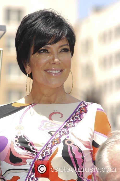 Kris Jenner and Star On The Hollywood Walk Of Fame 3