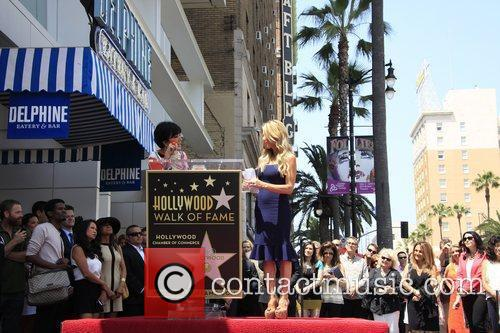 Kris Jenner and Star On The Hollywood Walk Of Fame 5
