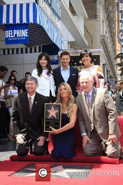 Miranda Cosgrove, Kris Jenner, Ryan Seacrest and Star On The Hollywood Walk Of Fame 6
