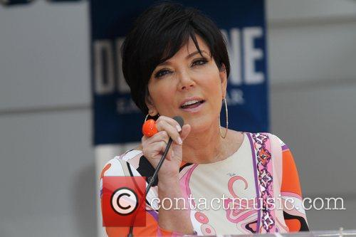 Kris Jenner and Star On The Hollywood Walk Of Fame 6