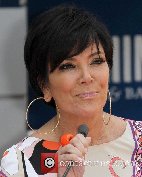 Kris Jenner and Star On The Hollywood Walk Of Fame 8