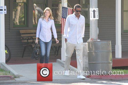 Ellen Pompeo, Chris Ivery and Election Day 4