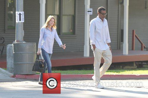Ellen Pompeo, Chris Ivery and Election Day 8