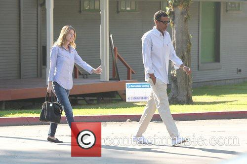Ellen Pompeo, Chris Ivery and Election Day 6