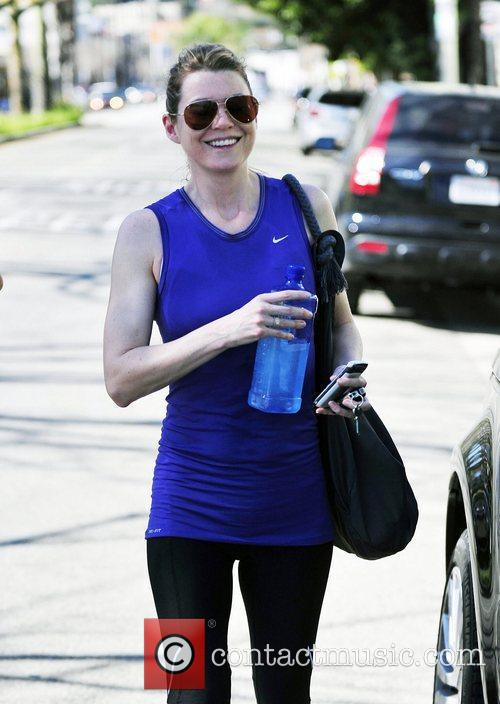Seen leaving a pilates class in Studio City