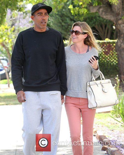 Ellen Pompeo and husband Chris Ivery shop together...