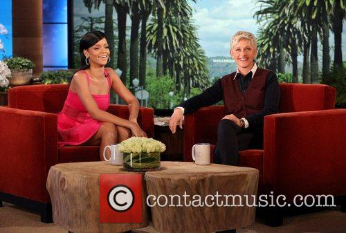Rihanna, The Ellen, Ellen, Show, Wednesday, November, And and Plus 1