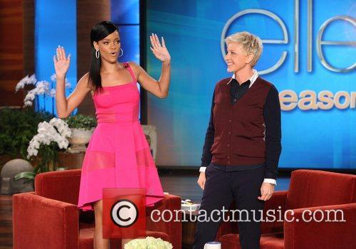 Rihanna, The Ellen, Ellen, Show, Wednesday, November, And and Plus 2