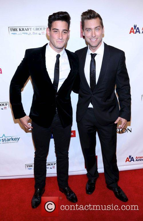 Michael Turchin and Lance Bass 2