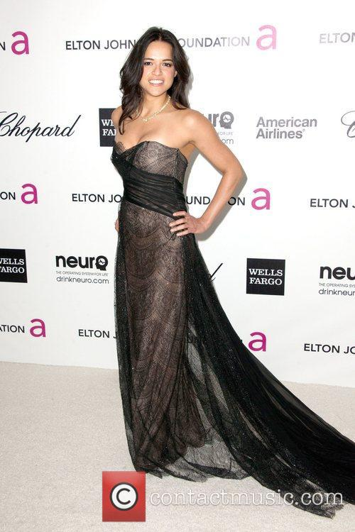 Michelle Rodriguez The 20th Annual Elton John AIDS...