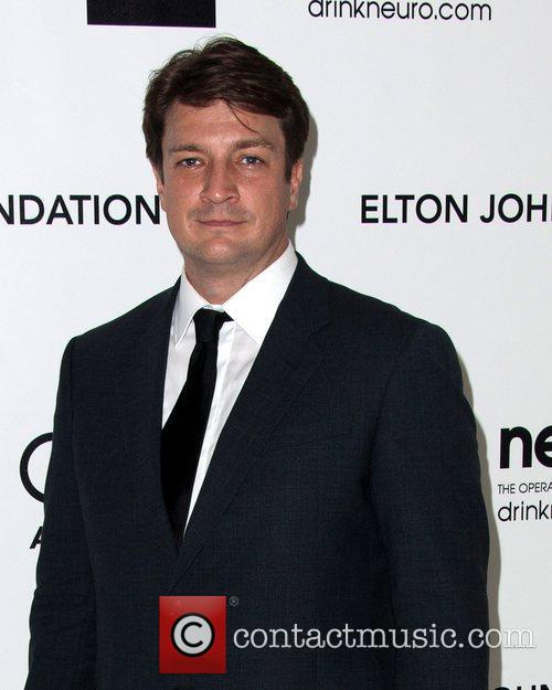 nathan fillion the 20th annual elton john 5801530
