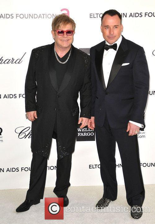 Elton John and David Furnish 2