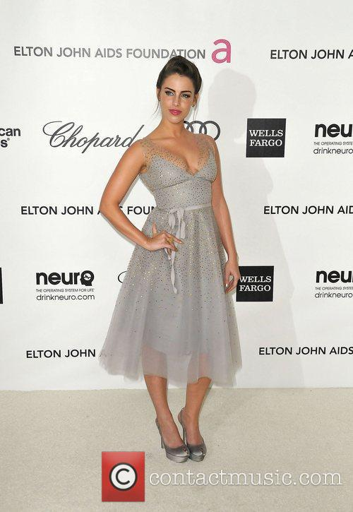 Jessica Lowndes The 20th Annual Elton John AIDS...