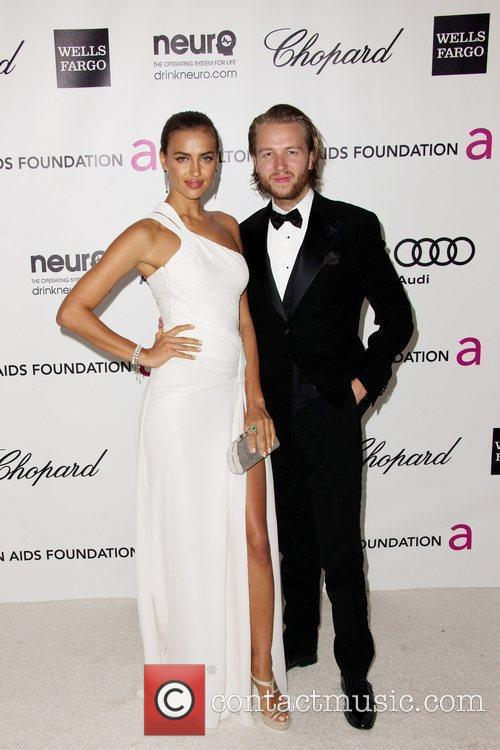 Irina Shayk and Michael Lillelund The 20th Annual...