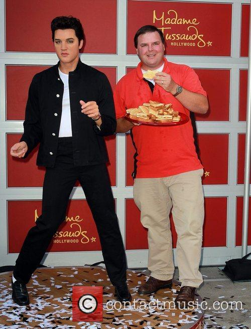 Madame Tussauds Hollywood unveils a wax figure of...