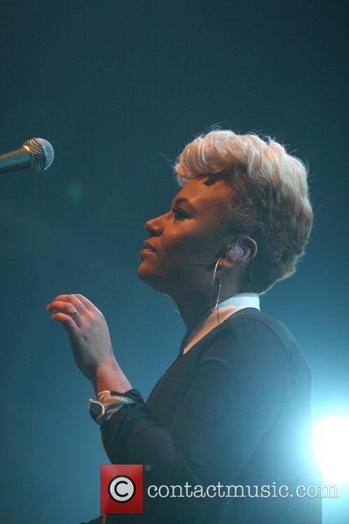 British singer Emeli Sande performs live at the...