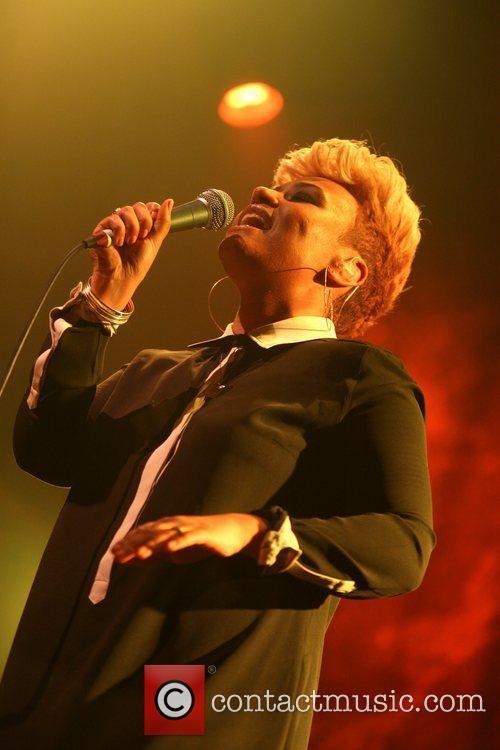 British singer Emeli Sande performs live at the...