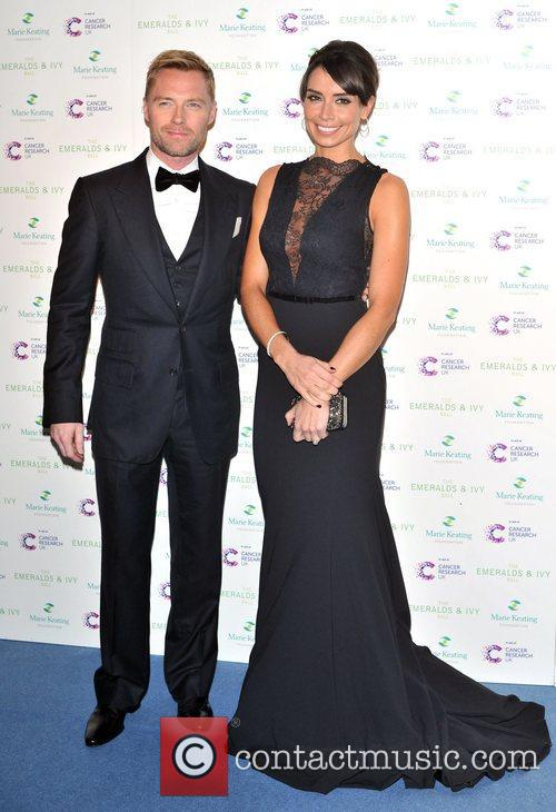 Ronan Keating and Christine Bleakley 2