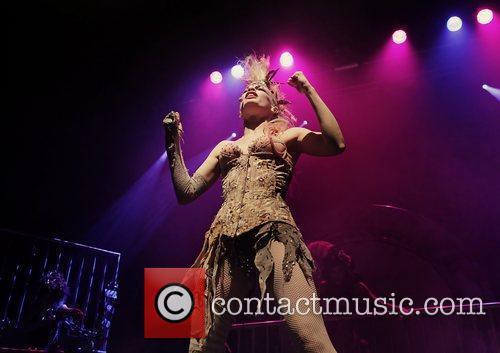 Emilie Autumn performs live at Manchester Ritz Manchester,...