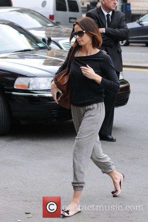 Emily Blunt out and about in New York...