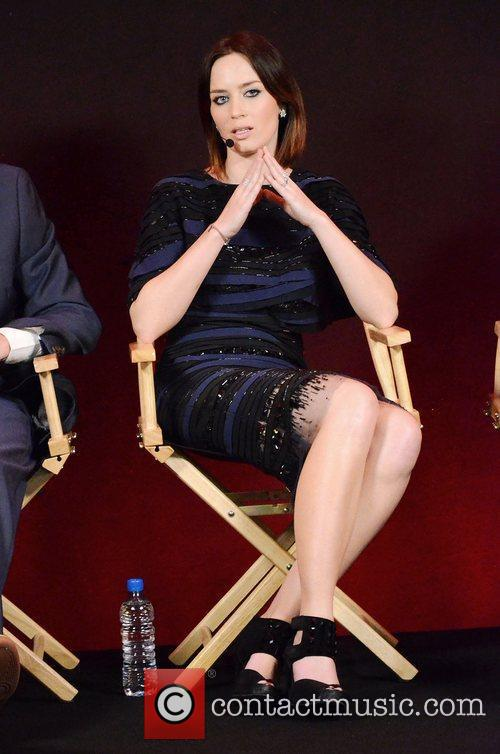 Emily Blunt at the Meet The Filmmakers to...