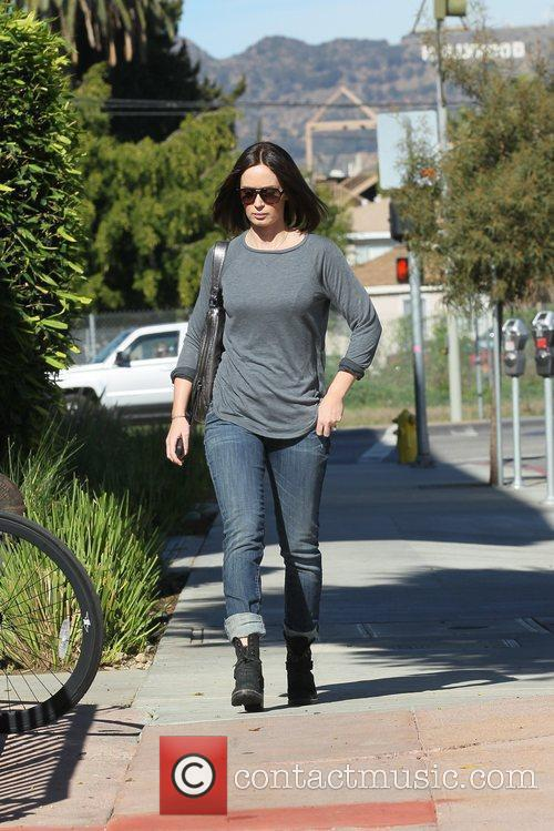 Emily Blunt out and about in Hollywood Los...