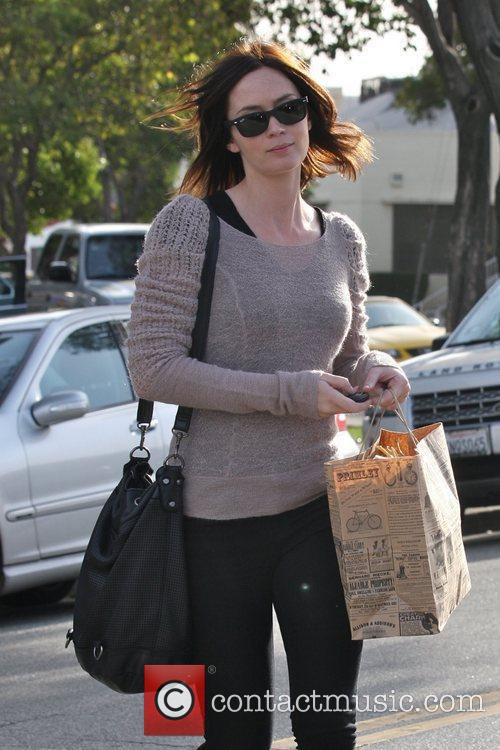 Leaving Byron & Tracey salon in Beverly Hills