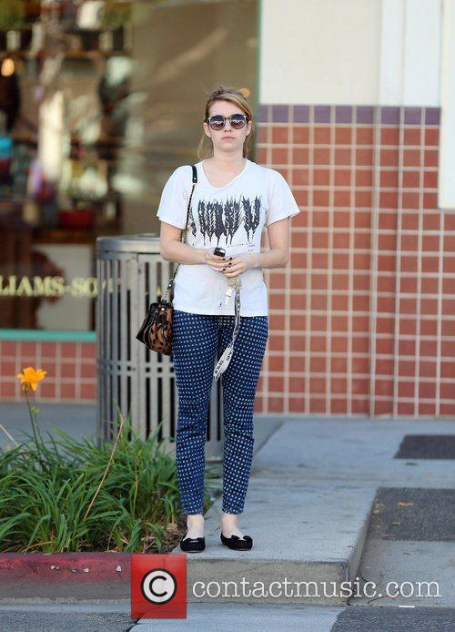 emma roberts out and about in beverly 4150536