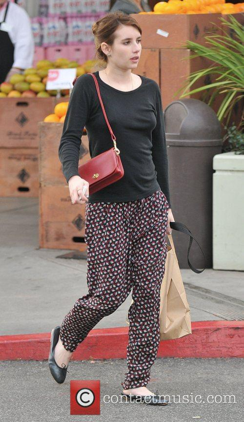 Emma Roberts, Bristol Farms and West Hollywood 8
