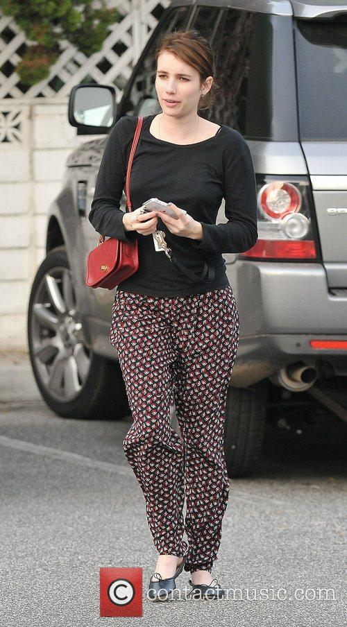Emma Roberts, Bristol Farms and West Hollywood 5